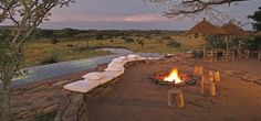 Singita Faru Faru lodge - Evening in Serengeti!!