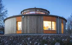 Villa Circuitus: first round Passive House in Sweden / The Green Life <3