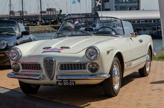 1961 Alfa Romeo 2000 Spider by Touring