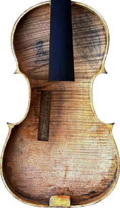 Violin by Jean Baptiste Vuillaume - (Serial No. 2) - Back Table - Inside View