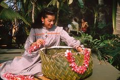 Basket Making, Honolulu – 1958 | by ElectroSpark