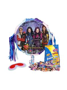 Looking for Descendants Pull String Pinata Kit for your next party? Locate Birthday in a Box for the most wanted and party accessories & reduced prices.