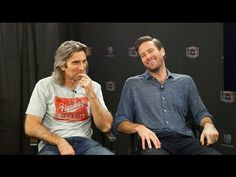The cast of Free Fire spent its time crawling in the dirt and goofing of...