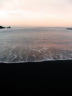 Black Sand, Tenerife, Canary Islands, by davydubbit,
