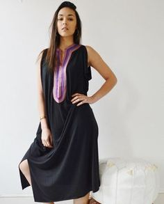 Printemps noir Marrakech Bohochic Tee Kaftan Caftan - The latest in Bohemian Fashion! These literally go viral! Kamiz, Bohemian Style, Bohemian Fashion, Summer Design, Dresses For Work, Summer Dresses, Marrakech, Fashion Outfits, Clothes For Women