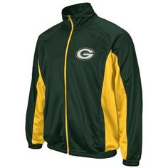 Men's Green Bay Packers Track Jacket $56.00