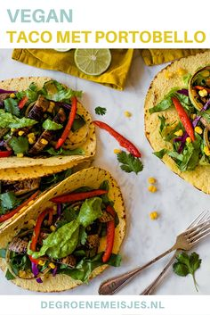 vegan tacos recept