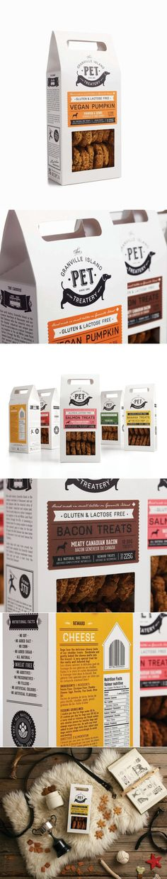 Granville Island Pet Treatery — The Dieline - Branding & Packaging Design - created via https://pinthemall.net