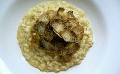 Italian recipe with white truffles