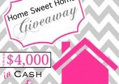 Home Sweet Home Giveaway (over $4000 in prizes)