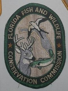 Florida-Fish-Willdife-Conservation-Commission-Old-Game-Warden-Police-Patch