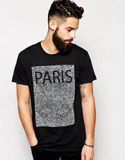 New Look T-Shirt with Paris Print