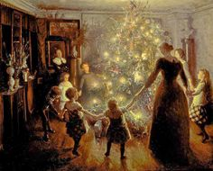 Classic Christmas songs that are more than 100 years old Origin Of Christmas, Its Christmas Eve, Christmas Scenes, Vintage Christmas, Classic Christmas Songs, Christmas Paintings, Christmas Illustration, Silent Night, Christmas Pictures