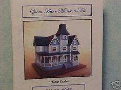 Qn. Anne Mansion Kit 1/144th #DH12  Dollhouse Miniature #Northeastern