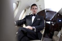 Suit & Tie, airplane