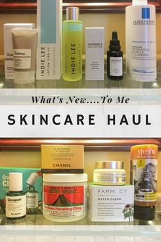February Skincare Haul  #skincare #beautyblogger #vintnersdaughter #drjartcicapair #theordinary #newinskincare