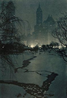 ADOLF FASSBENDER  The White Night (1936)