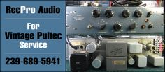 Vintage Pultec Repair and Service