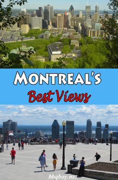 I always tell people coming to Montreal that the first place they have to visit is the mountain (as we call Mont-Royal). Not only is it the most scenic spot in the city, it is the best spot to orient yourself with the geography of Montreal. This post covers the most scenic walk in all of Montreal #Montreal #MontRoyal #travel #bbqboy