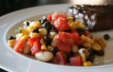 Black And White Bean And Corn Salad Recipe - Food.com