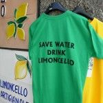 """T shirt at limoncello store in Ravello on the Amalfi Coast says, """"Save water."""" Do you agree? Limoncello, Cooking School, Save Water, Amalfi Coast, Bella, Bar, Drink, Store, Mens Tops"""