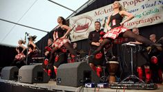 Red Hot Chilli Dancers. Cowal Highland Gathering 2009