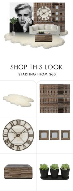 """""""Justin Bieber In the Living Room"""" by odeussing ❤ liked on Polyvore featuring interior, interiors, interior design, home, home decor, interior decorating, UGG Australia, Justin Bieber, Pier 1 Imports and New View"""