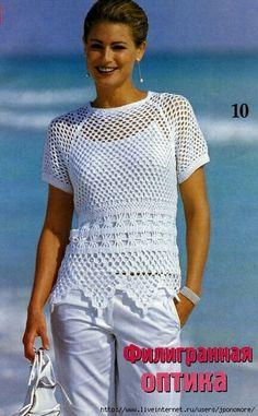 Blusa ideal para la playa