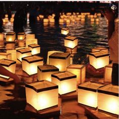 30 PCS / Paper Lampion For Outdoor Party