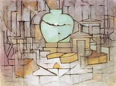 Piet Mondrian - Still Life with Gingerpot 2, 1912