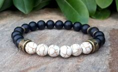 Men's Mala Bracelet Mens Jewelry Man Bracelet by Braceletshomme