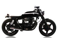 Honda CB250N by Ellaspede