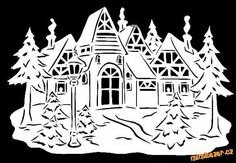 Winter village New Year windows decoration Paper cut by Jo CUT Fairy Crafts, Diy And Crafts, Decorating With Christmas Lights, Christmas Decorations, Christmas Love, Christmas Crafts, Origami, Paper Cutting Patterns, New Year Pictures