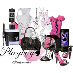 Playboy shoes and Playboy shoulder bags