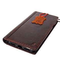 Genuine Italian full real Leather Case for Iphone 7 Book Wallet Handmade Luxury Retro classic cover slim -- Want to know more, click on the affiliate link Amazon.com.