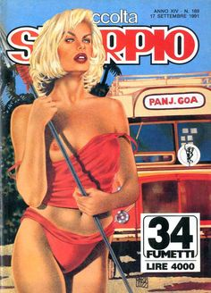Fumetti EDITORIALE AUREA, Collana SKORPIO RACCOLTA n°189