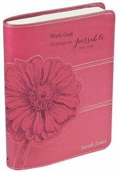 With God, All Things Are Possible Journal