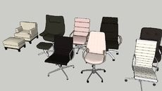 Collection of 3D Models: Office/bureaux