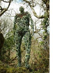 The Boscastle Giant willow sculpture by Serena de la Hey