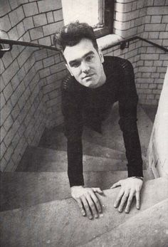 submitted by closeaway Moz Morrissey, The Smiths Morrissey, Johnny Marr, Charming Man, The New Wave, Alternative Music, Post Punk, Poses, My Favorite Music