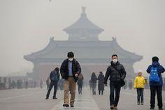WHO Warns Beijing Residents of Hazardous Pollution Risk | Respro® Bulletin Board