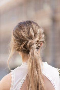 textured pony #hair