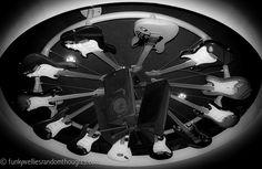 Guitar Ceiling | The B&W Photography Project