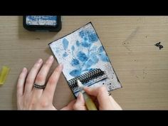 Made by Sannie: Felt that card with video tutorial