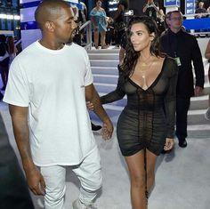 Kim and Kanye VMA'S