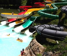 What's your favorite tube water slide? #ThisIsMyBeach