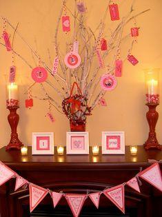 Valentine's Day Archives, Valentine's Day Garland for 2014
