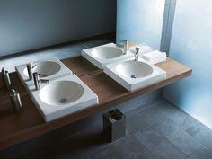 Ästhetik U0026 Funktionalität Zeichnen Die Duravit Serie Architec Aus.  Geradlinige U0026 Moderne WCs, Bidets, Urinale U0026 Waschbecken   Entwickelt Von  Prof.