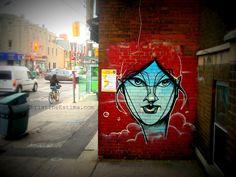 Anser #graffiti on College street. #streetart #toronto