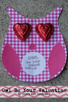 Homemade Valentines :: Owl Be Your Valentine #ValentinesDay